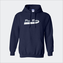 ΨΒ Baseball-Style Hooded Sweatshirt