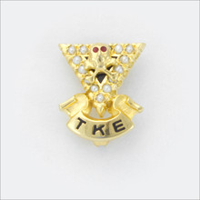TKE Crown Pearl Sweetheart Badge
