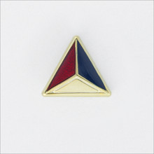 ΔΚΕ Pledge Pin