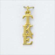 TKE Traditional Vertical Letter Lavaliere