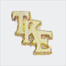 TKE Monogram Recognition Button
