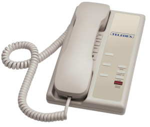 Teledex Nugget 3 Buton Guestroom Telephone Ash NUG31739