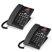 Vtech A2210-2 Single Line Contemporary Analog Guestroom Telephone 2 Pack