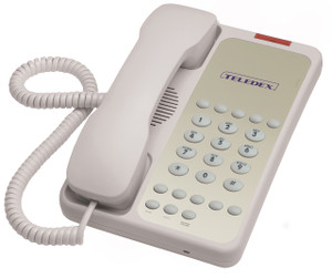Teledex OPAL 1010 Basic Guest Room Telephone OPL76239