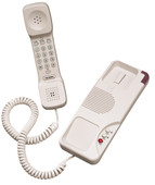 Teledex OPAL Two Line Trimline Guest Room Telephone OPL69159