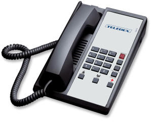Teledex Diamond+3 Hotel Hospitality Telephone Black DIA657391