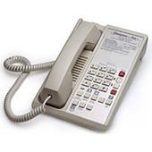 Teledex Diamond L2A 6 Two Line Guestroom Telephone Ash