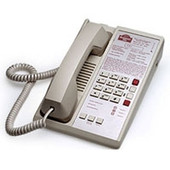 Teledex Diamond L2  Two Line Guestroom Telephone Ash