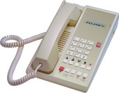 Teledex Diamond+S-5 Hotel Hospitality Telephone Ash DIA65149