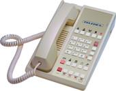 Teledex Diamond L2S-10E 2 Line Guest Room Telephone Ash DIA67359