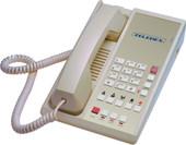 Teledex Diamond L2-5E 2 Line Guest Room Telephone Ash DIA67159