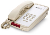 Scitec Aegis-P-08 Single Line Hotel Phone Ash 80001