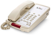 Scitec Aegis-3S-08 Single Line Speakerphone Hotel Phone 3 Button Ash 88031