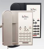 Scitec Aegis-3-09 Single Line Hotel Phone 3 Button Black 90302