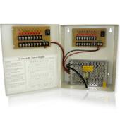 18 Channel 10 Amp 12VDC CCTV Power Distribution Box