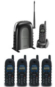 Single Line Long Range Industrial Cordless Phone System DuraFon 1X PIDW