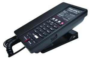 E100-4GSK Single Line Speakerphone 2 USB Charging Ports Guestroom Phone