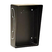 Outdoor Open Style Telephone Enclosure Black 331-HOB
