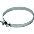 "4"" Galvanized Screw Type Clamp  (Price Per Piece).  Item#  234"