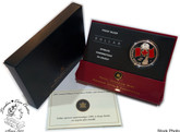 Canada: 2005 $1 40th Anniversary of Canada's National Flag Proof red enamel Silver Dollar Coin