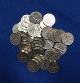 Canada: 1951 5 Cent Nickels Sudbury Commemorative (40 pcs) Average Circulated Condition