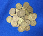 Canada: 1942 5 Cent Tombac (40 pcs) Average Circulated Condition
