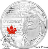 Canada: 2012 $4 Tecumseh Pure Silver Coin
