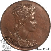 Canada: 1953 Queen Elizabeth II Coronation Medallion