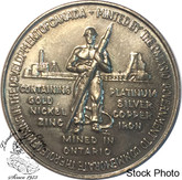 Canada: 1967 Confederation Token / Medallion - Commemorating Mining in Canada - Nickel