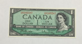 Canada: 1954 $1 Beattie-Rasminsky H/M #3