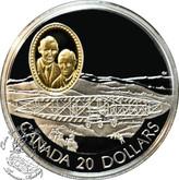 Canada: 1991 $20 A.E.A. Silver Dart Aviation Coin 1-3