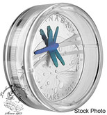 Canada: 2017 $20 Nature's Adornment: Niobium Dragonfly Silver Coin