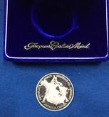 Canada: 1874 - 1974 Petrolia Canada .9995 Silver Medal 30 Grams Lot #4