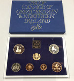 United Kingdom: 1982 The Decimal Coinage of Great Britain and Northern Ireland Coin Set