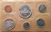 Canada: 1962 Proof Like / PL Coin Set