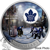 Canada: 2017 $10 Passion to Play: Toronto Maple Leafs Silver Coin