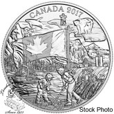 Canada: 2017 $3 The Spirit of Canada Silver Coin