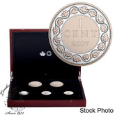 Canada: 2017 1 Cent Legacy of the Penny Collection (5 Silver Coin Set)