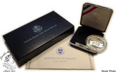 United States: 1991 $1 USO 50th Anniversary Proof Dollar Coin