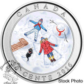 Canada: 2016 50 Cents 3D Angels Lenticular Coin