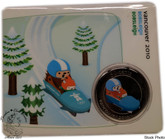 Canada: 2010 50 Cent Vancouver Olympics Bobsleigh Mascot Coin