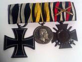 Germany: WWI Wuerttemberg Medal Set