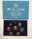 Falkland Islands: 1982 Coin Set