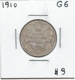 Canada: 1910 25 Cents G6 Lot#3