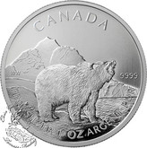 Canada: 2011 $5 Grizzly 1 oz  Pure Silver Coin