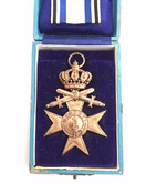 Germany: WWI Bavaria Military Merit Cross with Crown in Orignal Case