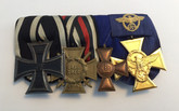 Germany: A First World War & Police Long Service Medal Bar