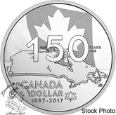 Canada: 2017 $1 Our Home & Native Land Special Edition Proof Silver Dollar Coin