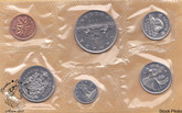 Canada: 1968 No Island Variety Proof Like / Uncirculated Coin Set