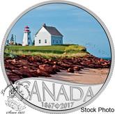 Canada: 2017 $10 Celebrating Canada Panmure Island Silver Coin